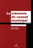 Francis Pian - Le mémento du conseiller municipal.