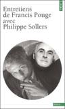 Francis Ponge et Philippe Sollers - .