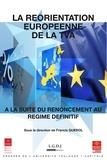 Francis Querol - La réorientation européenne de la TVA à la suite du renoncement au régime définitif.