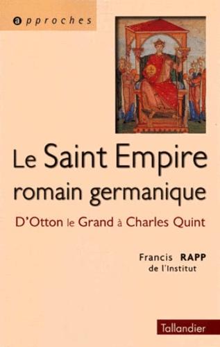 Carte Saint Empire Romain Germanique