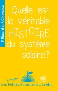 Deedr.fr Quelle est la véritable histoire du système solaire ? Image