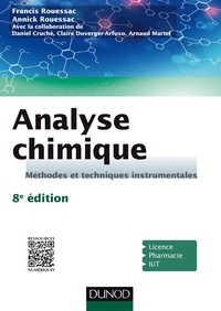 Analyse chimique - Francis Rouessac, Annick Rouessac, Daniel Cruché, Claire Duverger-Arfuso, Arnaud Martel - Format PDF - 9782100748136 - 27,99 €