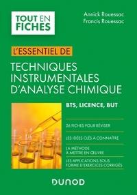Francis Rouessac et Annick Rouessac - Techniques instrumentales d'analyse chimique - BTS, Licence, BUT.