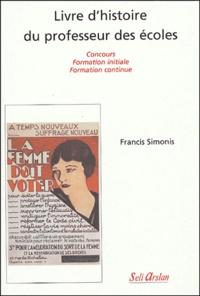 Deedr.fr Livre d'histoire du professeur des écoles - Concours, formation initiale, formation continue Image