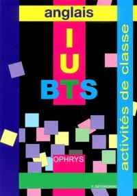 Francis Szychowski - Anglais BTS IUT sections post-bac - Activités de classe.