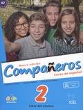 Francisca Castro et Ignacio Rodero - Companeros - Curso de espanol 2 - Libro del alumno A1.