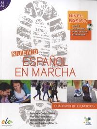 Francisca Castro Viudez - Nuevo Español en marcha, nivel basico - Cuaderno de ejercios. 1 CD audio