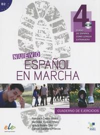 Francisca Castro Viudez et Mercedes Alvarez Pineiro - Nuevo espanol en marcha - Cuaderno de ejercicios. 1 CD audio MP3