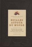 Francisca Mattéoli - Escales autour du monde - Etiquettes d'hôtel de la collection Gaston-Louis Vuitton.