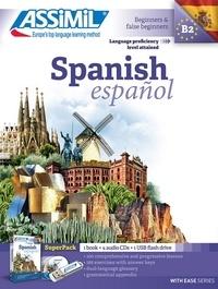 Deedr.fr Spanish Beginners & false beginners - Superpack 1 book + 4 audio CDs + 1 USB flash drive Image
