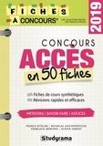 Franck Attelan et Nicholas Chicheportiche - Concours Accès en 50 fiches.