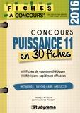Franck Attelan et Chrysanthos Procopi - Concours Puissance 11 - 30 fiches méthodes, savoir-faire et astuces.