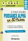 Franck Attelan et Chrysanthos Procopi - Concours puissance alpha en 30 fiches.