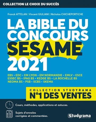 La Bible du concours SESAME  Edition 2021