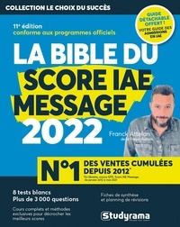 Franck Attelan - La bible du score IAE message 2022.