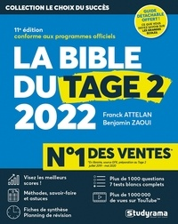 Franck Attelan et Benjamin Zaoui - La bible du Tage 2 - Avec 1 guide offert.