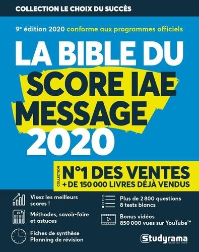 Franck Attelan - Le bible du score IAE message.