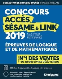 Era-circus.be Logique & mathématiques aux concours Accès, Sésame & Link Image