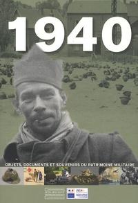 Franck Beaupérin - 1940 - Objets, documents et souvenirs du patrimoine militaire.