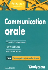 Franck Bellucci - La communication orale.