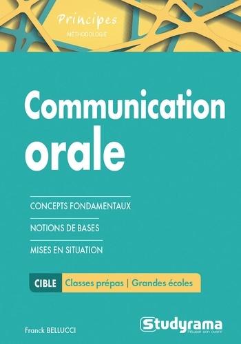 Franck Bellucci - La communication orale.
