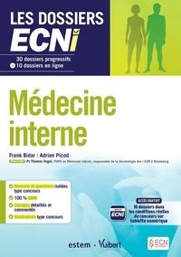 Les dossiers ECNi médecine interne - Franck Bidar pdf epub