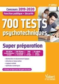 Deedr.fr 700 tests psychotechniques - Concours Fonction publique / Sécurité Image