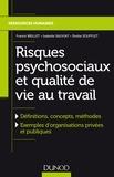 Franck Brillet et Isabelle Sauviat - Risques psychosociaux et qualité de vie au travail.