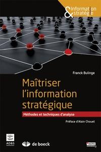 Maîtriser linformation stratégique - Méthodes et techniques danalyse.pdf