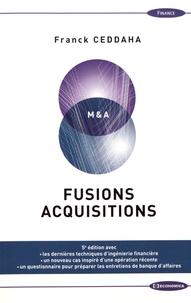 Franck Ceddaha - Fusions Acquisitions.