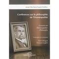 Franck Choffrut et James Tyler Kent - Conférences sur la philosophie de l'homéopathie - Concepts et contexte.