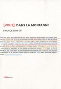 Franck Doyen - (Vous) dans la montagne.