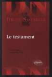 Franck Eliard et Robert Brochard - Le testament.