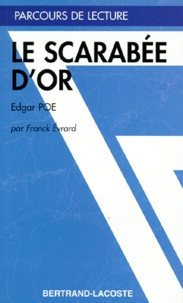 """Franck Evrard - """"Le scarabée d'or"""", Edgar Poe."""