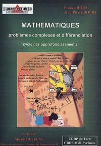 Mathématiques, problèmes complexes et différenciation- Cycle des appofondissements - Franck Horn  