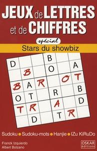 Franck Izquierdo et Albert Bolzano - Jeux de lettres et de chiffres - Tome 1 Stars du Showbiz.