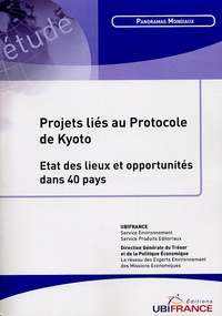 Franck Jesus - Projets liés au protocole de Kyoto - Etat des lieux et opportunités dans 40 pays.