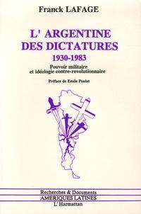 Rhonealpesinfo.fr L'Argentine des dictatures, 1930-1983 - Pouvoir militaire et idéologie contre-révolutionnaire Image