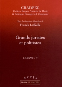 Franck Laffaille - Grands juristes et politistes.
