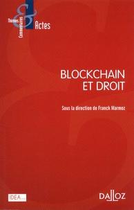Franck Marmoz - Blockchain et droit.