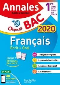 Franck Mazzucchelli - Français 1re STMG, ST2S, STL, STI2D, STD2A - Sujets et corrigés.