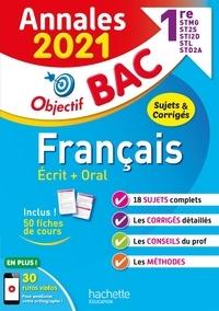 Franck Mazzucchelli et Emmanuel Lesueur - Français écrit + oral 1re STMG, ST2S, STI2D, STL, STD2A.