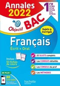 Franck Mazzucchelli et Emmanuel Lesueur - Français écrit + oral 1re STMG - ST2S - STI2D - STL - STD2A.