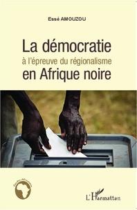 Franck Michel - La démocratie à l'épreuve du régionalisme en Afrique noire.