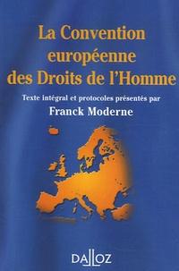Accentsonline.fr La Convention européenne des Droits de l'Homme Image