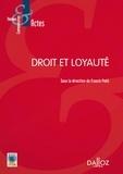 Franck Petit - Droit et loyauté.