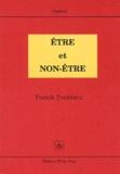 Franck Poublanc - Etre et Non-Etre.