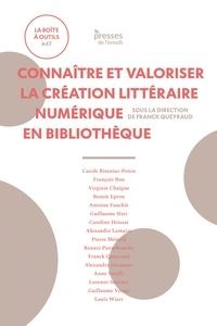 Franck Queyraud - Connaître et valoriser la création littéraire numérique en bibliothèque.