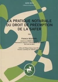 La pratique notariale du droit de préemption de la Safer - Juin 2016.pdf
