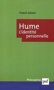 Franck Salaün - Hume - L'identité personnelle.